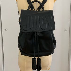 Leather Juicy Couture Backpack